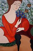 Jacqueline Limoges - Sitting Women