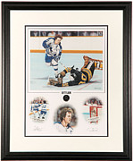 Hockey Mixed Media - Sittler Limited Edition by Daniel Parry
