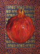 Jewish Pastels - Six Hundred Thirteen by Outre Art Stephanie Lubin Natalie Eisen