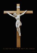 Sjncc Crucifix 1 Two K Eleven Print by Carl Deaville
