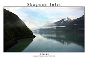 Signed Photo Framed Prints - Skagway Inlet Framed Print by William Jones