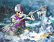Skeletor Prints - Skelet Oar Print by Miki De Goodaboom
