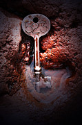 Alchemy Posters - Skeleton Key No 523 Poster by C E Dyer