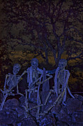 Canvas Photo Originals - Skeletons from My Closet by Karen Kolb