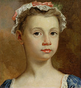 Sketch Paintings - Sketch of a Young Girl by Joseph Highmore