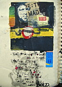 Cardboard Mixed Media - Sketchbook 2  pg 0 by Cliff Spohn