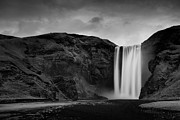 Long Exposure Art - Skógafoss Waterfall by Mark Voce Photography