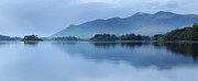 Derwent Reservoir Prints - Skiddaw Range, Lake District Print by Stephen Spraggon