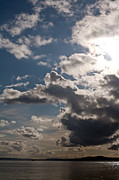 Puget Sound Photos - Skies Over Puget Sound by Mike Reid