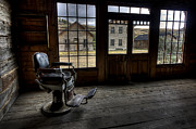 Miners Ghost Prints - Skinners Saloon - Bannack Ghost Town Print by Daniel Hagerman