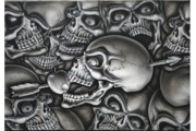 Terry Stephens - Skull and Arrow