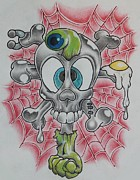 Grey Originals - Skull and Crossbones Caught Up by Landon Clary