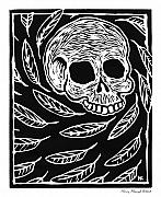 Goth Originals - Skull and Feathers by Henry Krauzyk