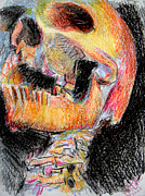 Jon Baldwin Art Art - Skull  by Jon Baldwin  Art