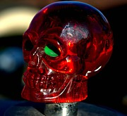 Radiator Cap Photos - Skull Radiator Cap by Tim McCullough