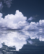 Natural Abstract Photos - Sky and ocean by Blink Images