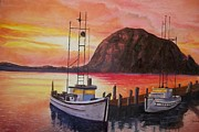 Terry Godinez - Sky at Morro Bay