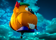 Hot Air Balloons Art - Sky Beaver by Bob Orsillo
