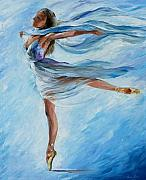 Ballet Painting Originals - Sky Dance by Leonid Afremov