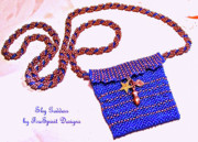 Woven Jewelry Originals - Sky Goddess by Patricia Griffin Brett