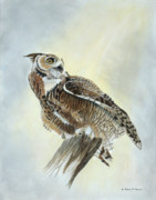Patricia Mansell - Sky Hunter-Great Horned...