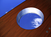 Skylight Framed Prints - Sky In The Hole Framed Print by Lisa Stokes