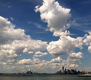 Thunderheads Art - Sky Over Sunset Park Brooklyn 2 by Frank Winters
