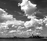 Thunderheads Art - Sky Over Sunset Park Brooklyn by Frank Winters
