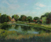 Stratford Paintings - Sky Pond by Bruce Zboray