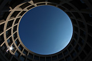 Blue Oval Framed Prints - Sky Portal Framed Print by Joshua Ball