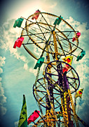 Eye Shutter To Think Prints   - Sky Wheel Carnival Ride