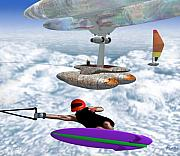 Robert Martin Art - Skyboarding by Robert Martin