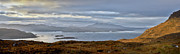 Wester Ross Prints - Skye from Kishorn morning panorama Print by Gary Eason