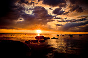 Sunset Photography Prints Prints - Skyfire Print by Jason Naudi Photography