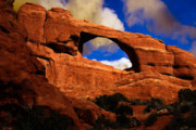 Skyline Arch Framed Prints - Skyline Arch Framed Print by Harry Spitz
