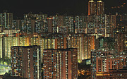 Kowloon Photo Posters - Skyline At Night Poster by Ryan Cheng Photography
