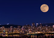 Vancouver Photos - Skyline by Lloyd K. Barnes Photography