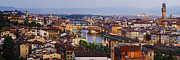 Old World Europe Posters - Skyline of Historic Florence Poster by Jeremy Woodhouse