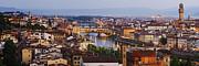 Skyline Of Historic Florence Print by Jeremy Woodhouse