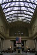 Skylit Chicago Union Station  Print by Christopher Kirby
