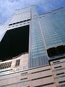 Skyscraper View Print by Yali Shi