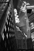 Architecture Originals - Skyscrapers and clouds in Washington DC by Adriana Biasco