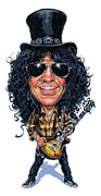 Guns N Roses Art - Slash by Art  