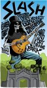 Slash Mixed Media - Slash in Singapore Tour Poster by Jefferson Wood