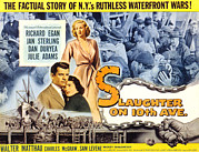 1957 Movies Photos - Slaughter On Tenth Avenue, Richard by Everett