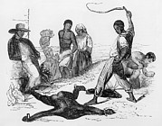 Slavery Photo Prints - Slave Punishment In The French West Print by Everett