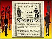 Negroes Posters - Slave Sale Poster by Belinda Threeths