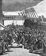 Slavery Ship Prints - Slave Ship Print by Photo Researchers