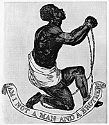 Chained Prints - Slavery: Abolition, 1835 Print by Granger