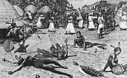 Abduction Photos - Slavery: Arab Slave Raid by Granger